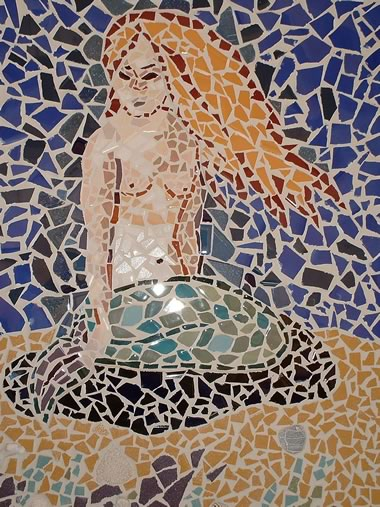 Mermaid Mosaic Design
