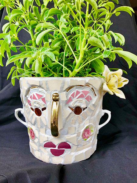 Mosaic Face Planter